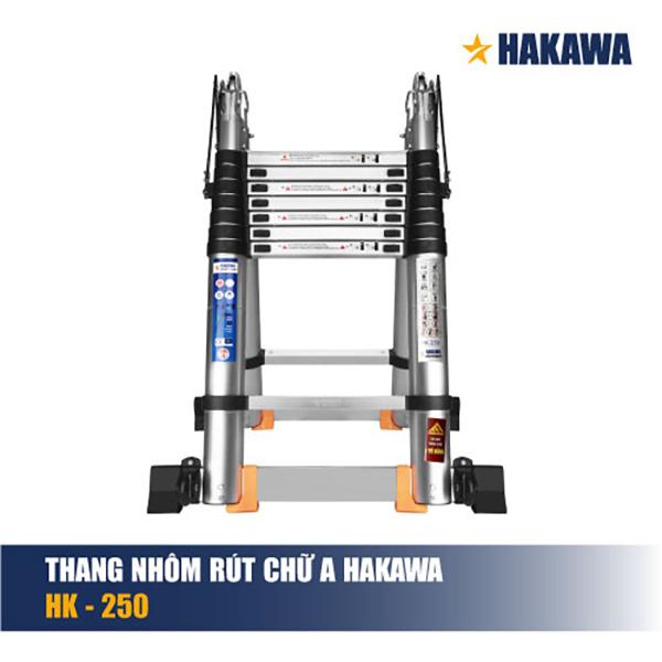 Thang Nhôm Rút Chữ A HAKAWA HK-250