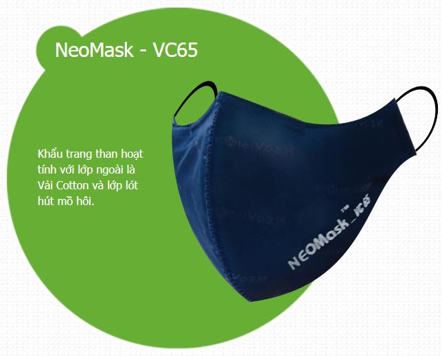 Khẩu trang chống độc Neomask VC 65
