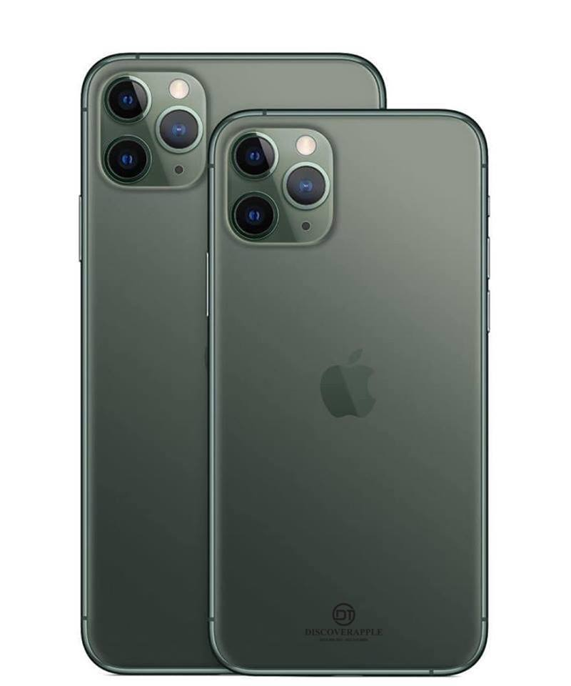 iPhone 11 Pro Max 512G Midnight Green LL/A ( 1 sim )