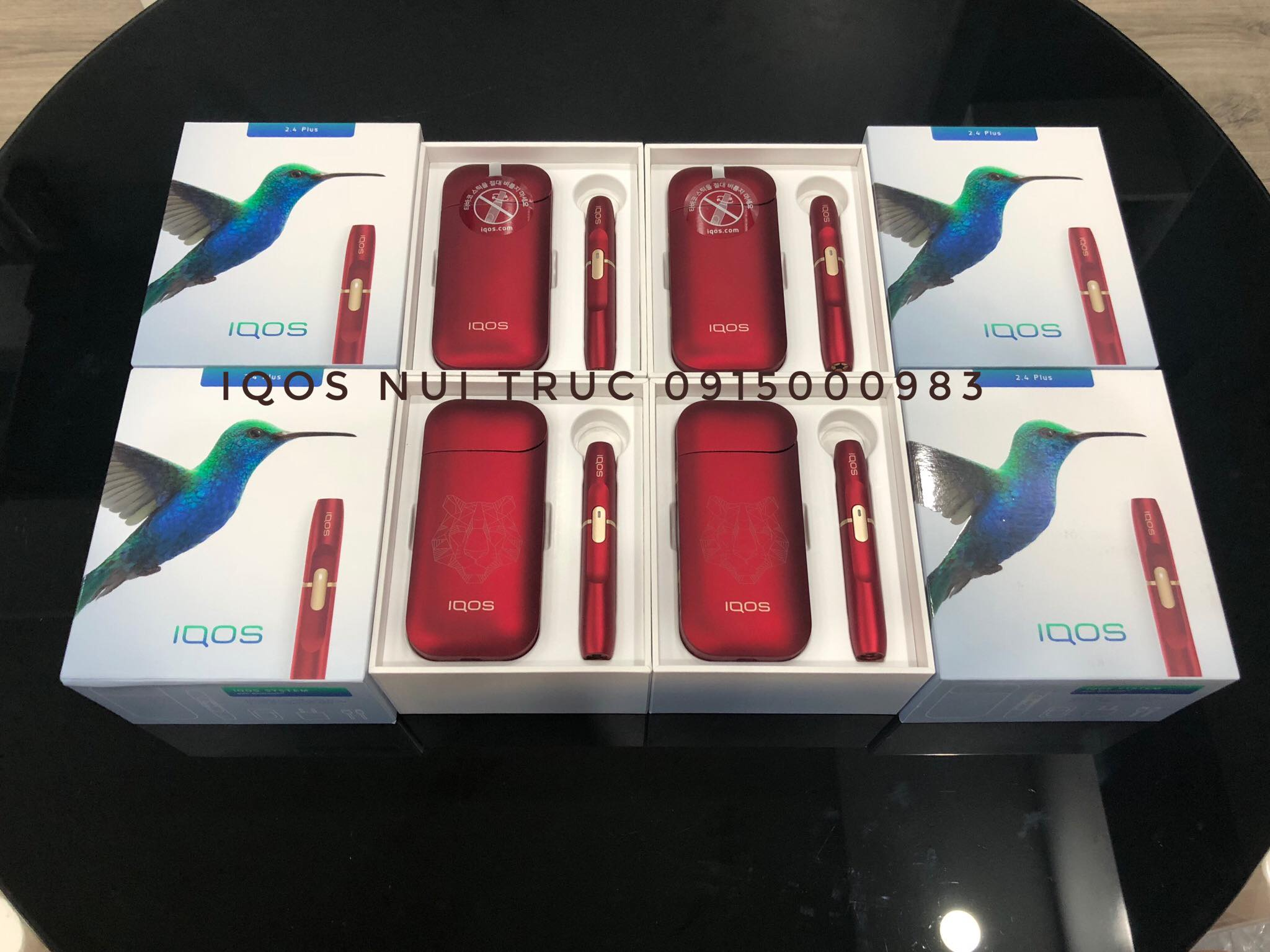 IQOS PLUS 2.4 RED LIMITED ( NEW)