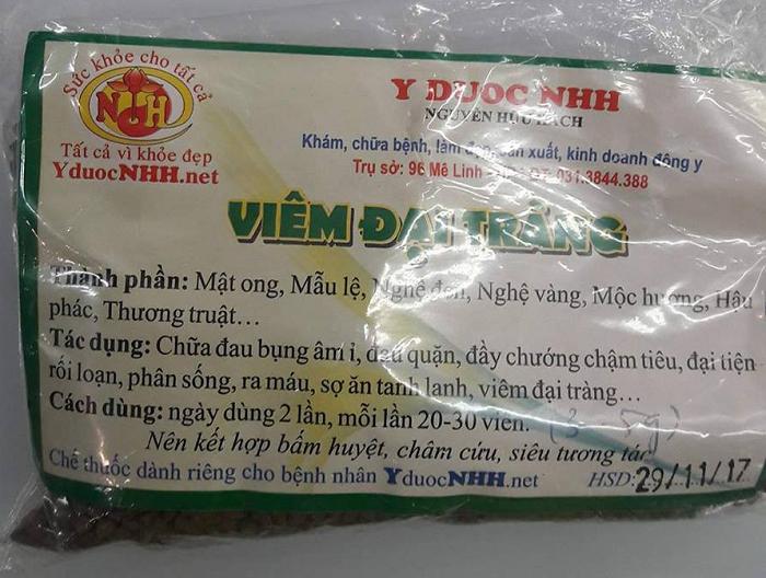 Thuốc Chữa Viêm Đại Tràng Hiệu Quả Bằng Đông Y