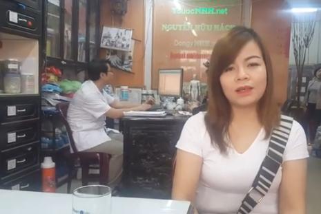 Chị Trang Nhung điều trị bênh sang chấn tâm lý thành công