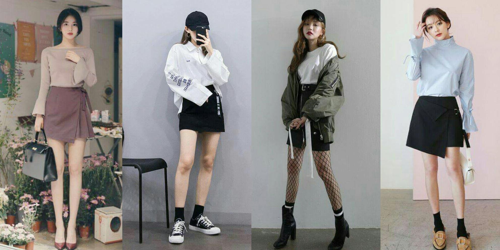 Chân váy chữ A mặc với áo gì đẹp?
