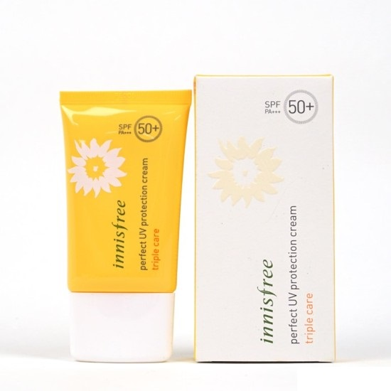 Kem chống nắng Perfect UV protection cream triple care [SPF50+ PA+++]