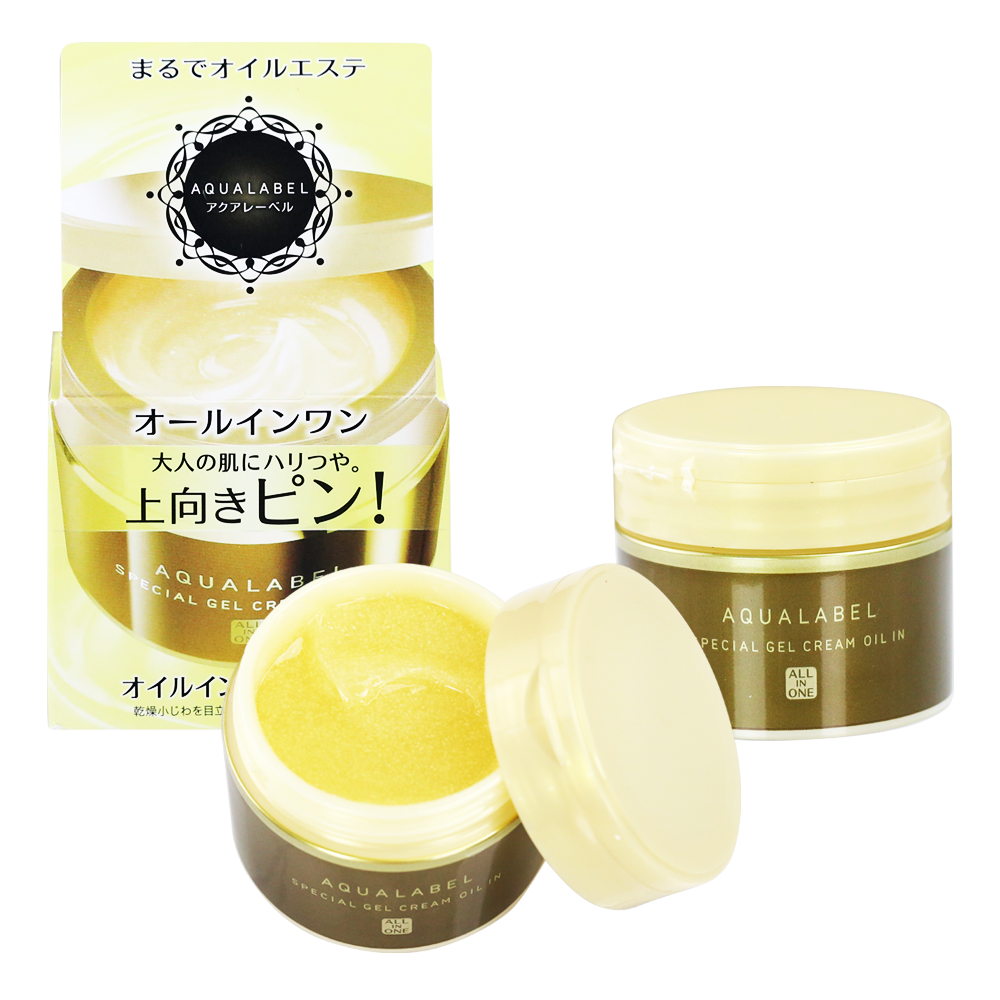 Kem dưỡng da Shiseido Aqualabel Special Gel Cream Oil
