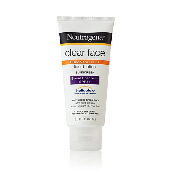 Kem Chống Nắng Neutrogena Clear Face break - out free liquid lotion SPF 55
