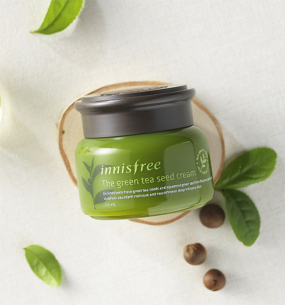 Kem Dưỡng Innisfree Green Tea Seed Cream