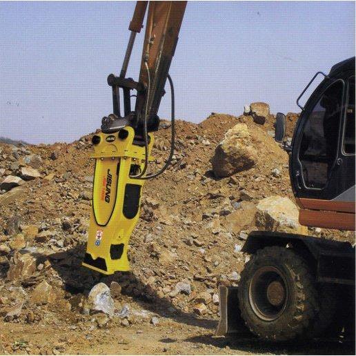 Cho thuê máy xúc đào lắp búa