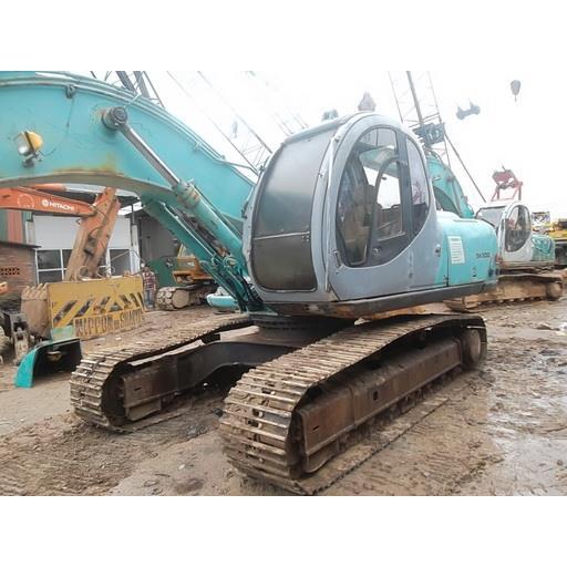 Cho thuê máy xúc đào Sk200 gầu 0,7 khối