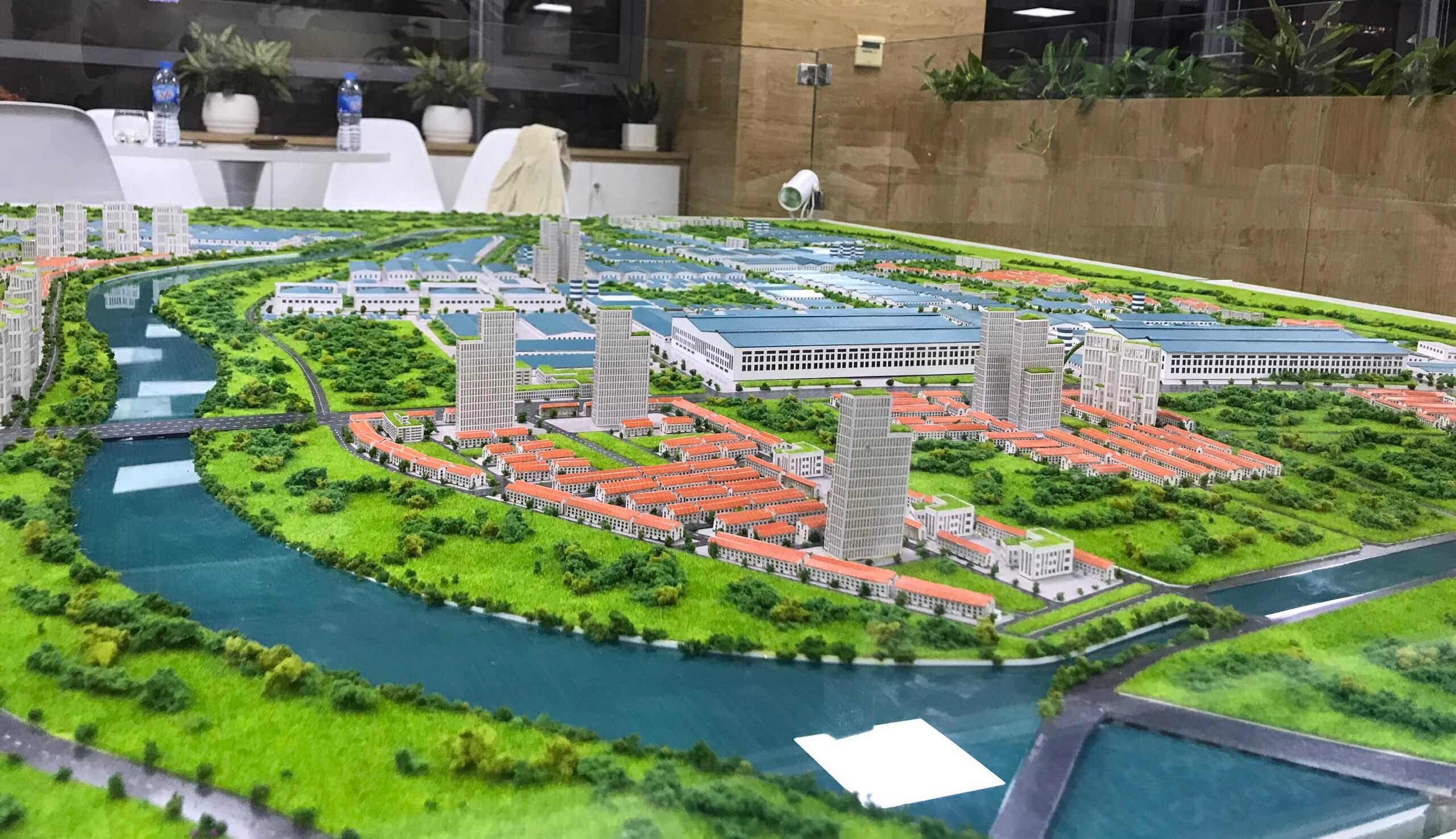 DA KCN& Nhà ở công nhân Liên Hà Thái - TL 1.2000