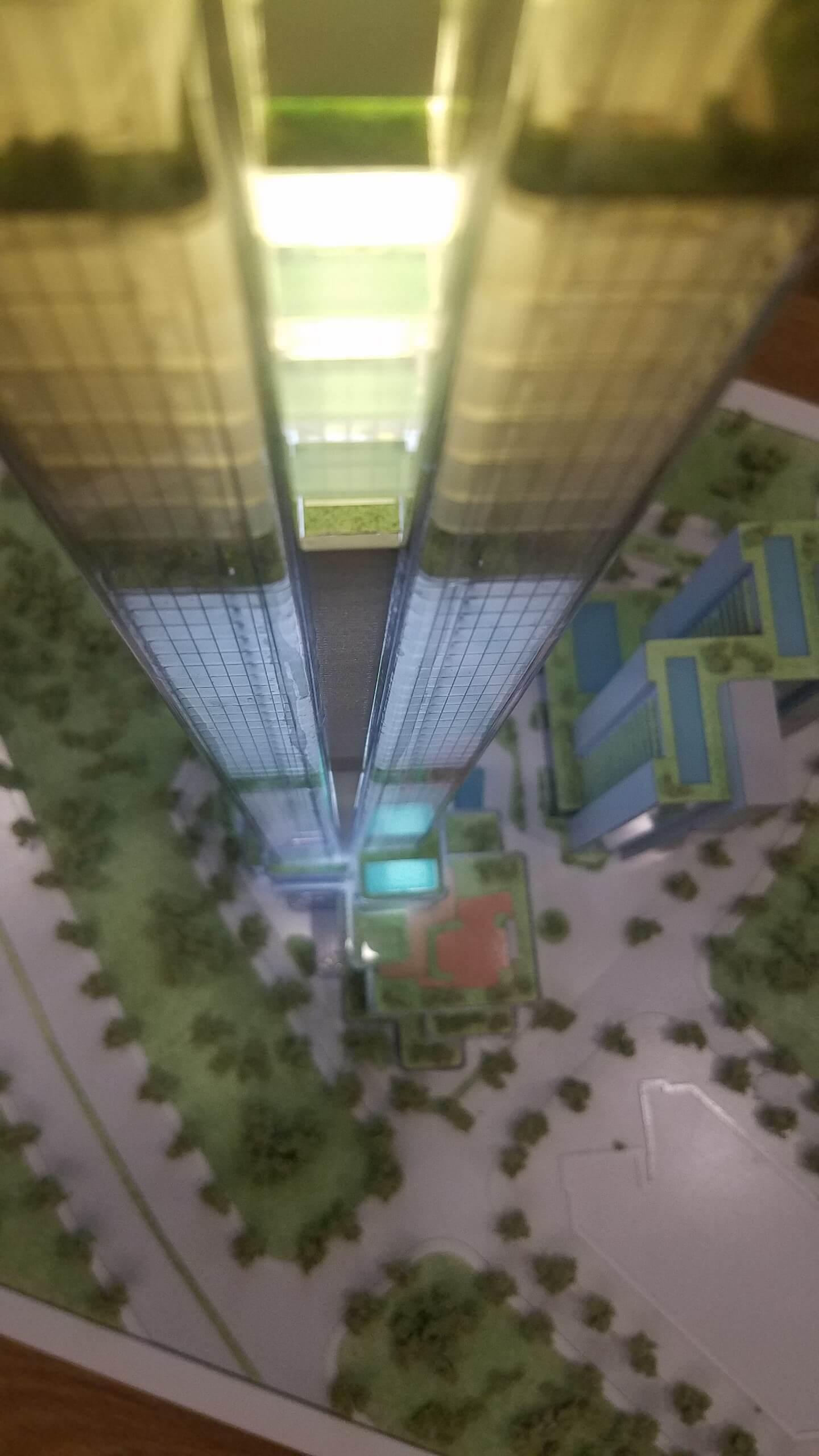 MÔ HÌNH CONCEFT - dự án ECO GREEN - TL 1.500