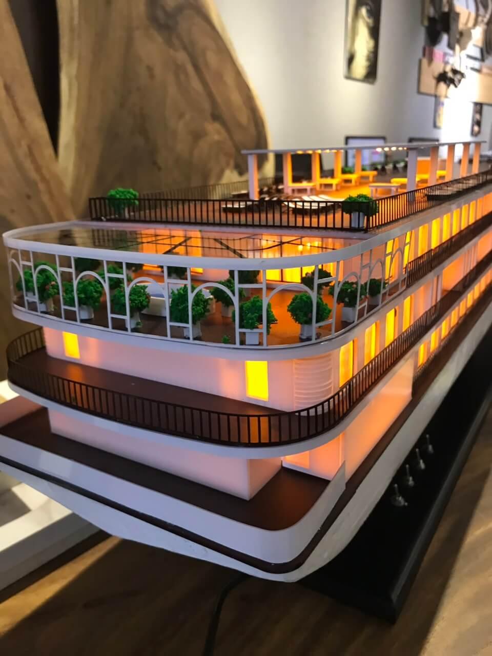 Mô hình du thuyền - du lịch Hạ Long