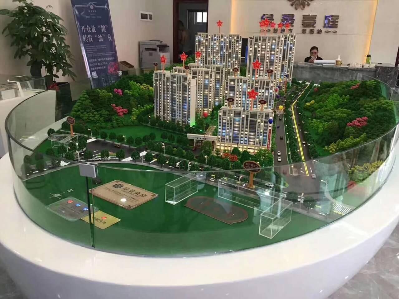 Dự án chung cư tỷ lệ 1.100 -3000x4000mm