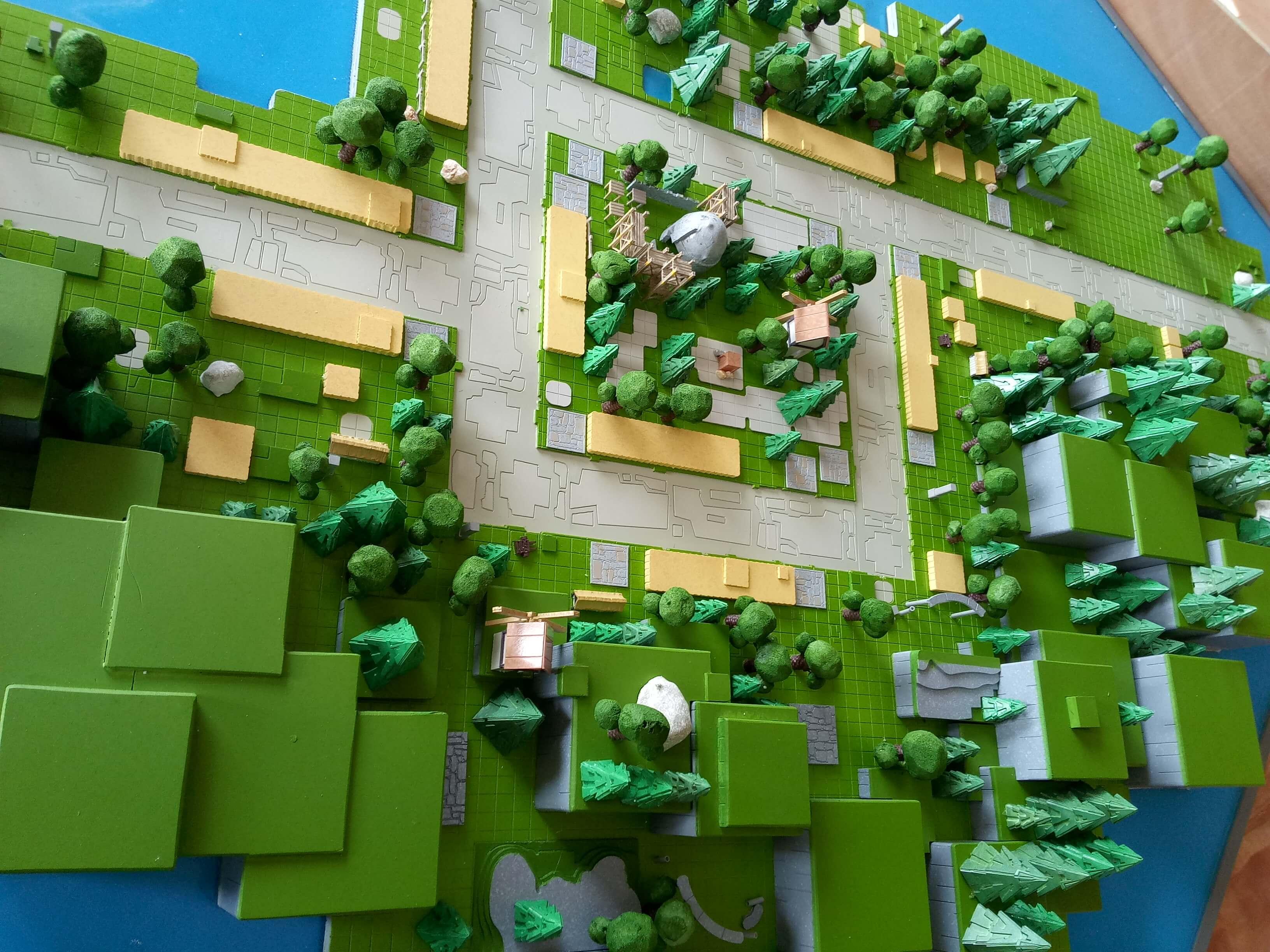 Mô hình Game Hiker