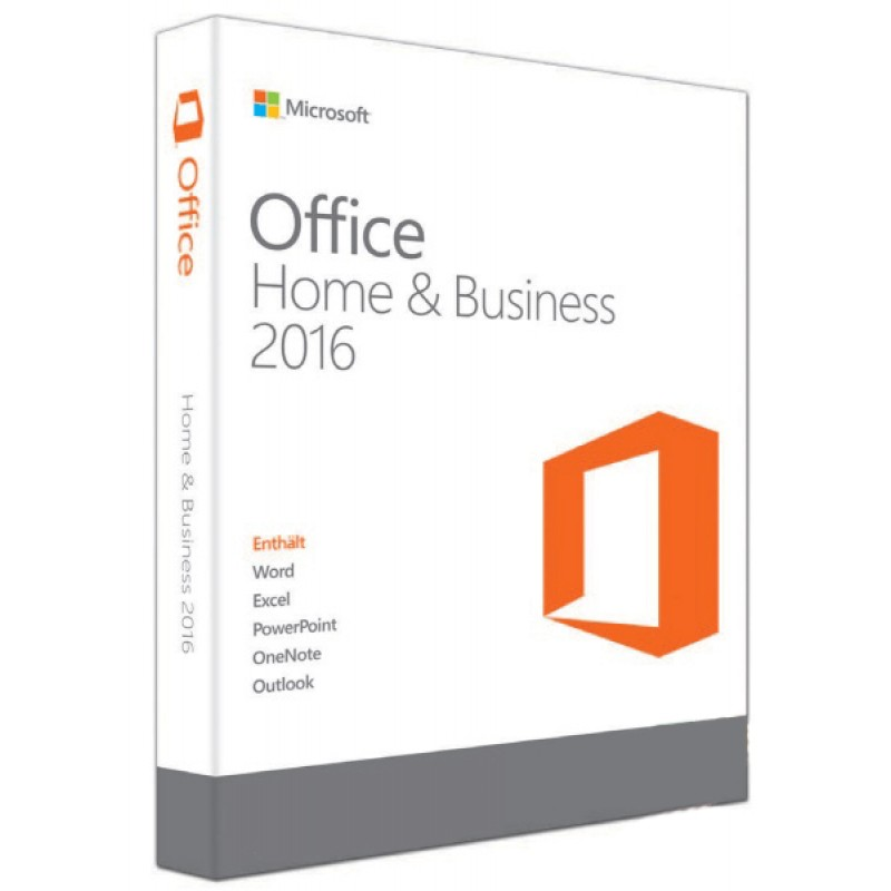 phần mềm Office Home and Business 2016 32-bit/x64