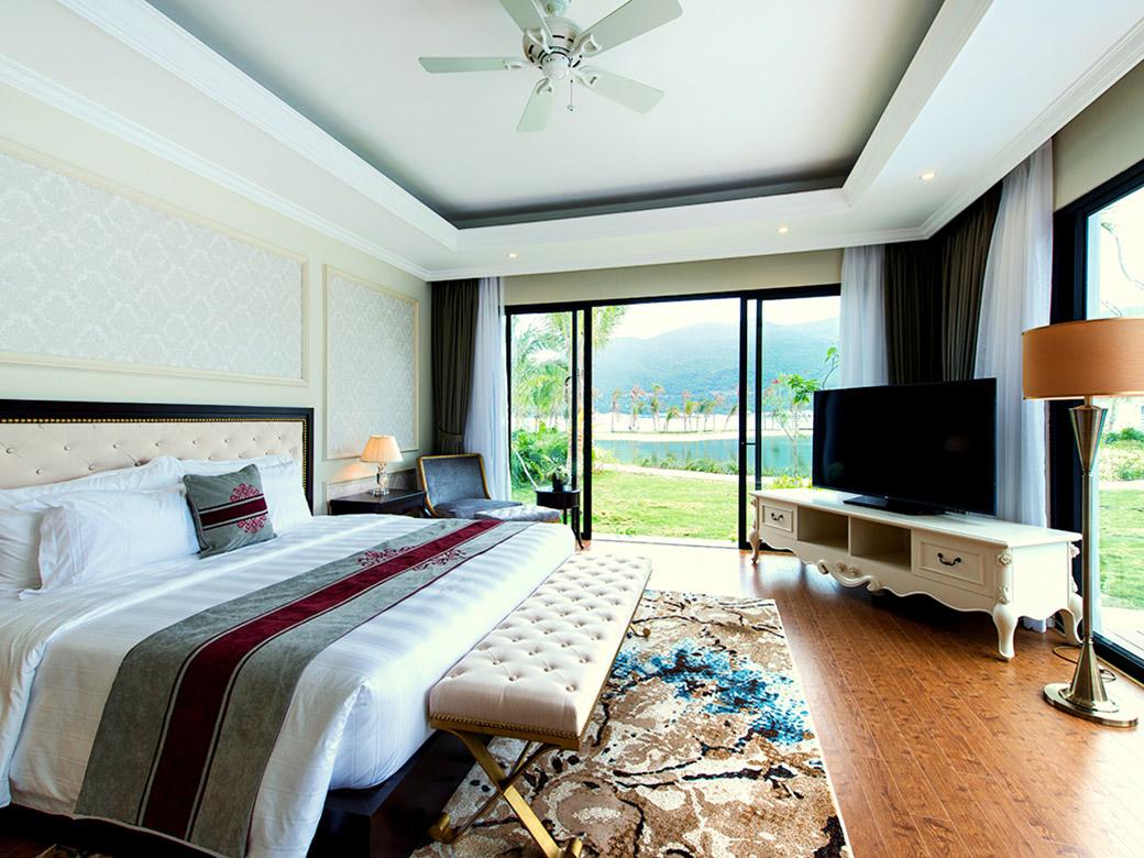Vinpearl Discovery 1 Nha Trang còn có hệ thống các biệt thự rất phù hợp với các gia đình có đông thành viên