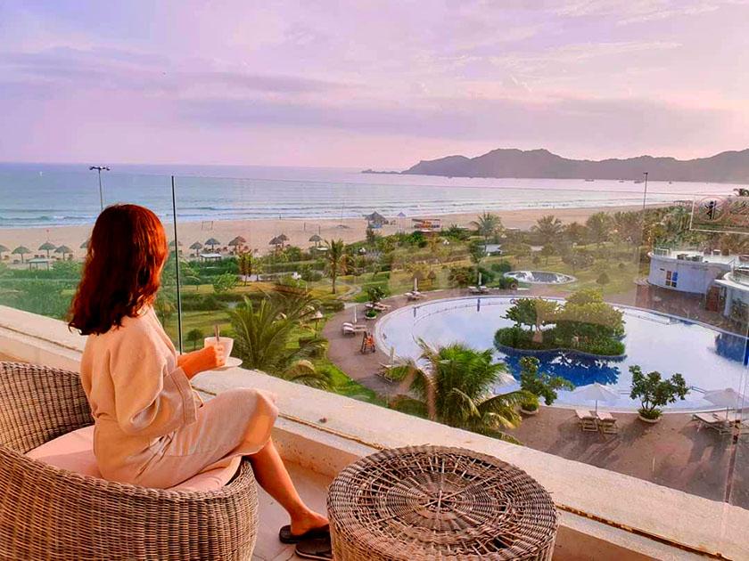 View từ khách sạn FLC Quy Nhơn