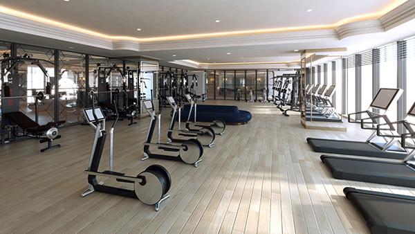 Phòng tập Gym tại FLC Hạ Long