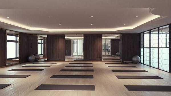 Phòng tập Yoga tại FLC Hạ Long