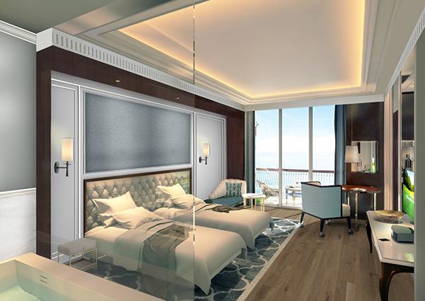 Phòng Deluxe Bay View tại FLC Hạ Long