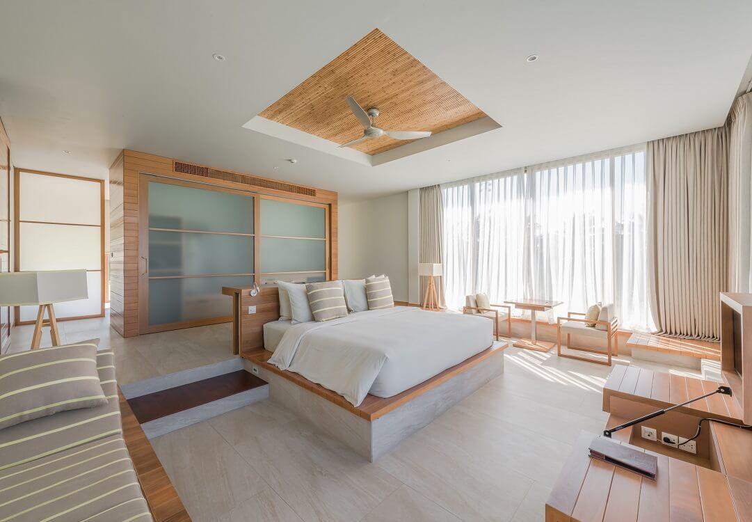2 phòng loại 1 giường đôi x 1m8 cho 4 người