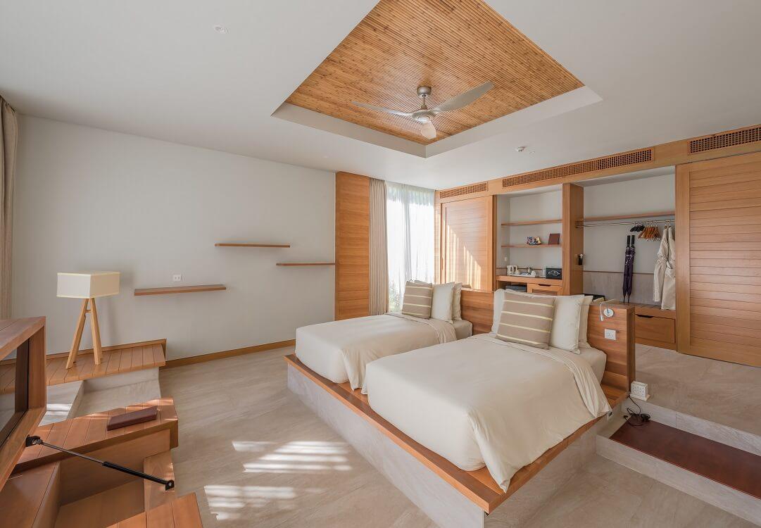 2 phòng loại 2 giường đơnx 1m2 cho 4 người