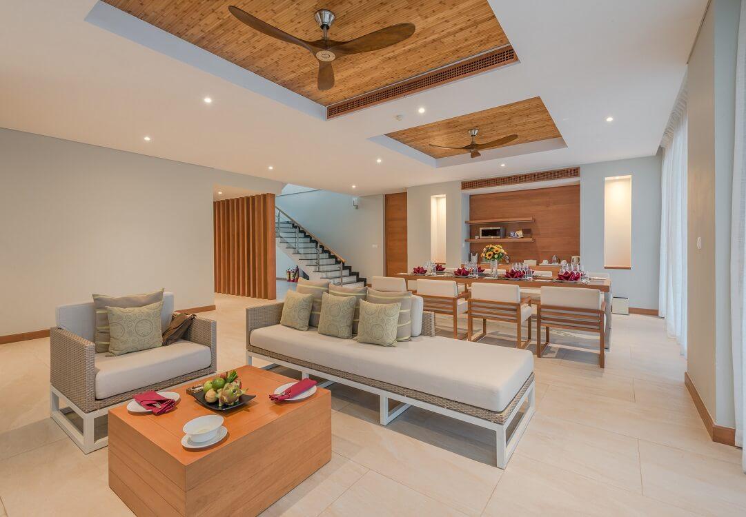 Villa 4 ngủ 2 tầng sang trọng có tầm nhìn tuyệt đẹp hướng sân golf với đầy đủ các tiện ích cao cấp