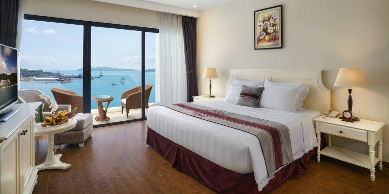 Nơi đây cũng chính là khách sạn sở hữu số lượng phòng lớn nhất trên đảo Hòn Tre, Nha Trang