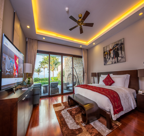 Phòng Deluxe Ocean View Vinpearl Đà Nẵng Resort and Villas