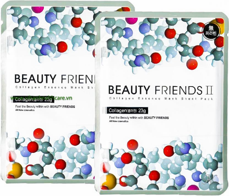Mặt nạ dưỡng da Beauty Friends Collagen Mask Sheet