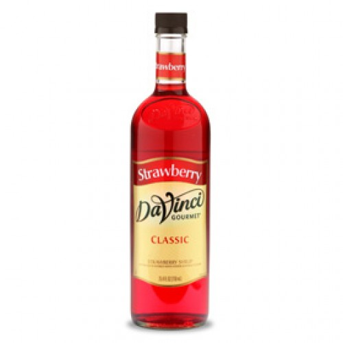 Siro Davinci Dâu tây (Strawberry Syrup) 750ml