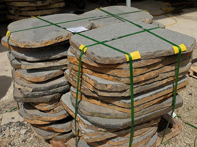 black-basalt-stepstones-bush-hammered