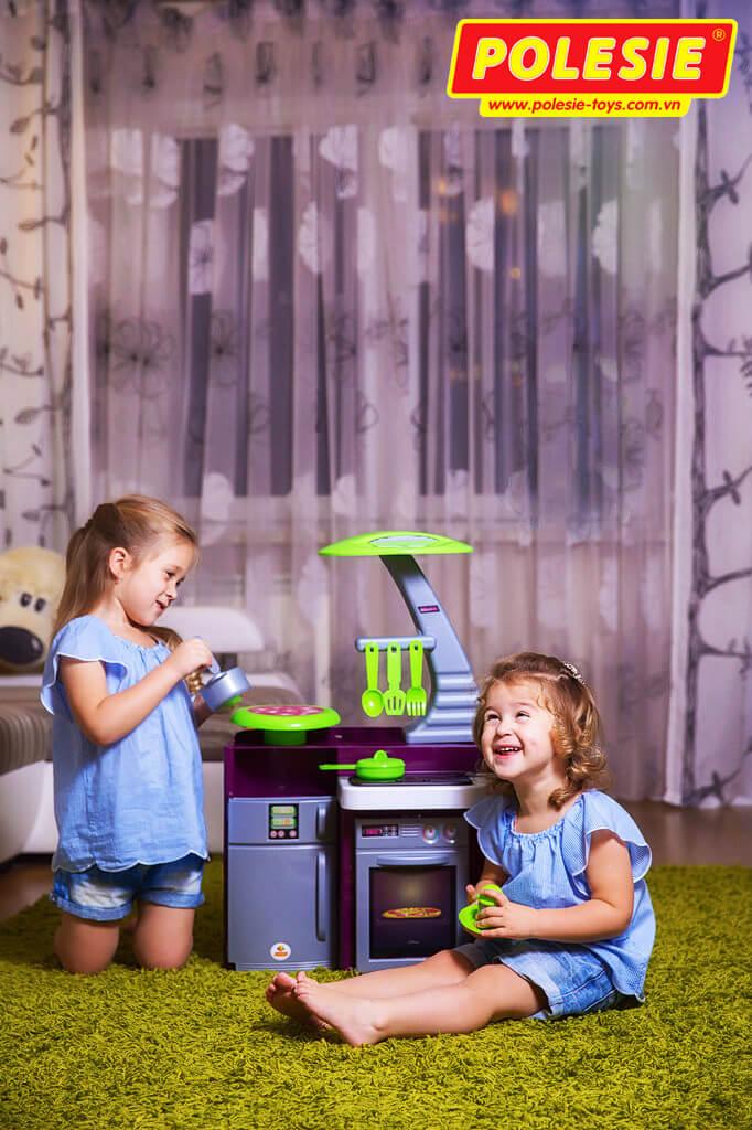 đồ chơi nhà bếp laura 56313 cho các bé gái vui đùa
