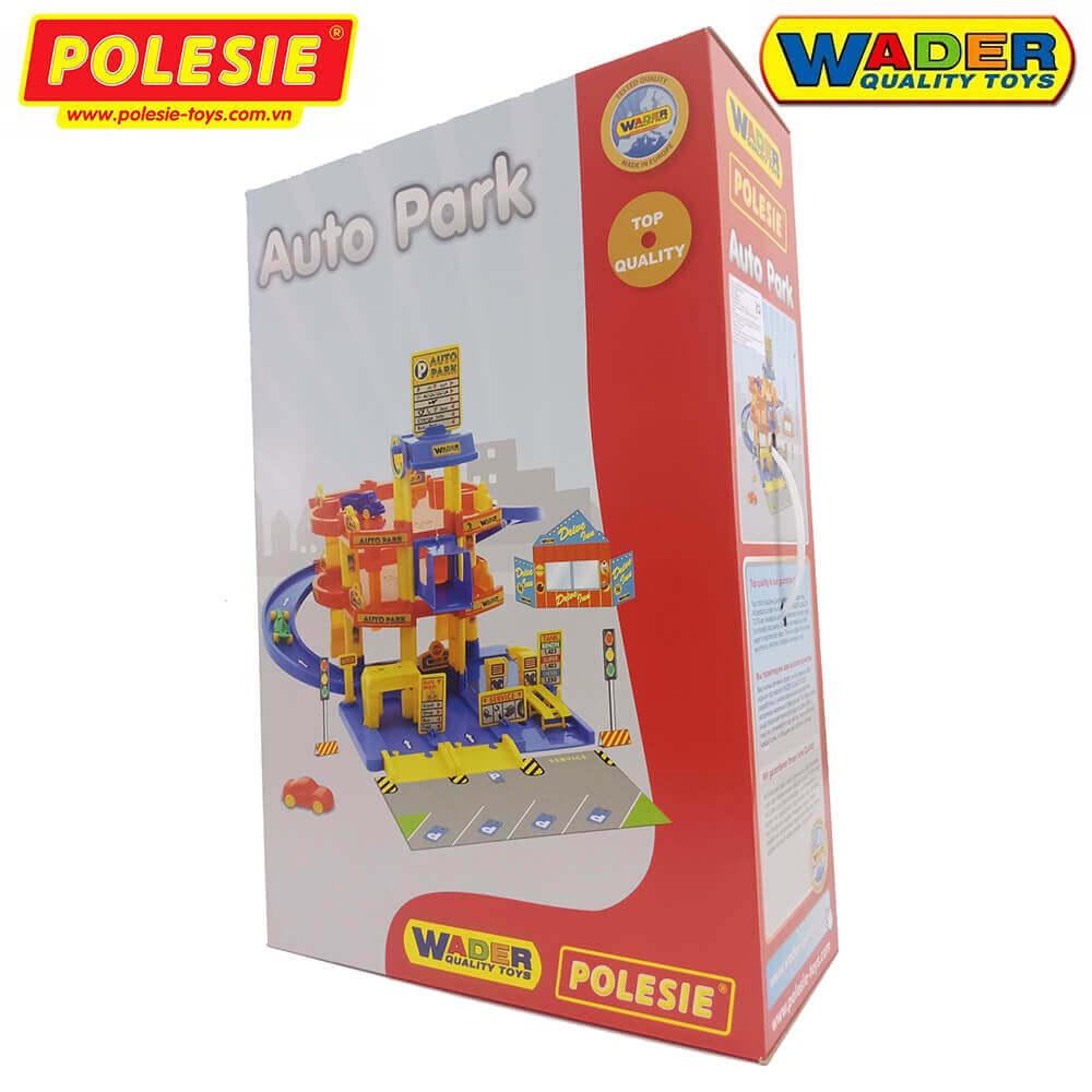 hộp do choi cho be gara xe 3 tầng polesie toys 37893