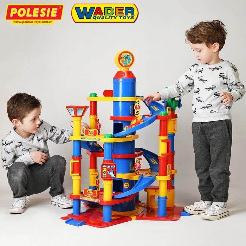Wader Quality Toys chỉ lựa chọn những nhà cung cấp nguyên liệu đạt tiêu chuẩn