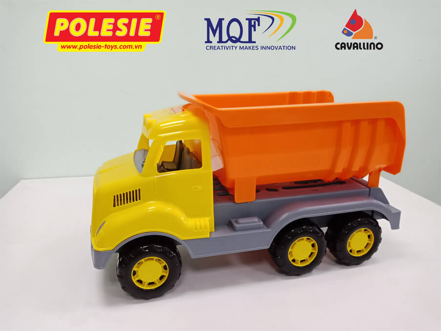 đồ chơi cho bé xe ben cỡ lớn thương hiệu Cavallino Toys MQF CO