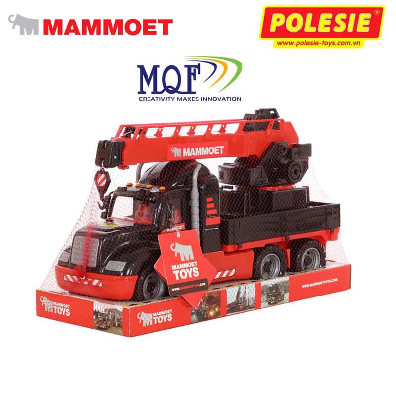 quy cách đóng gói đồ chơi xe mô hình mammoet polesie toys 57112
