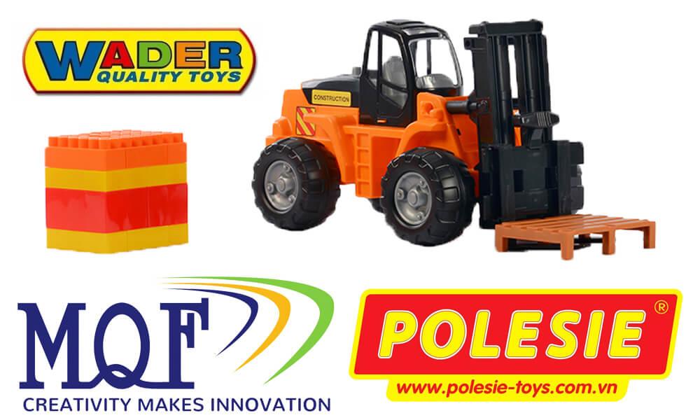 đồ chơi hướng nghiệp xe nâng powertruck polesie việt nam