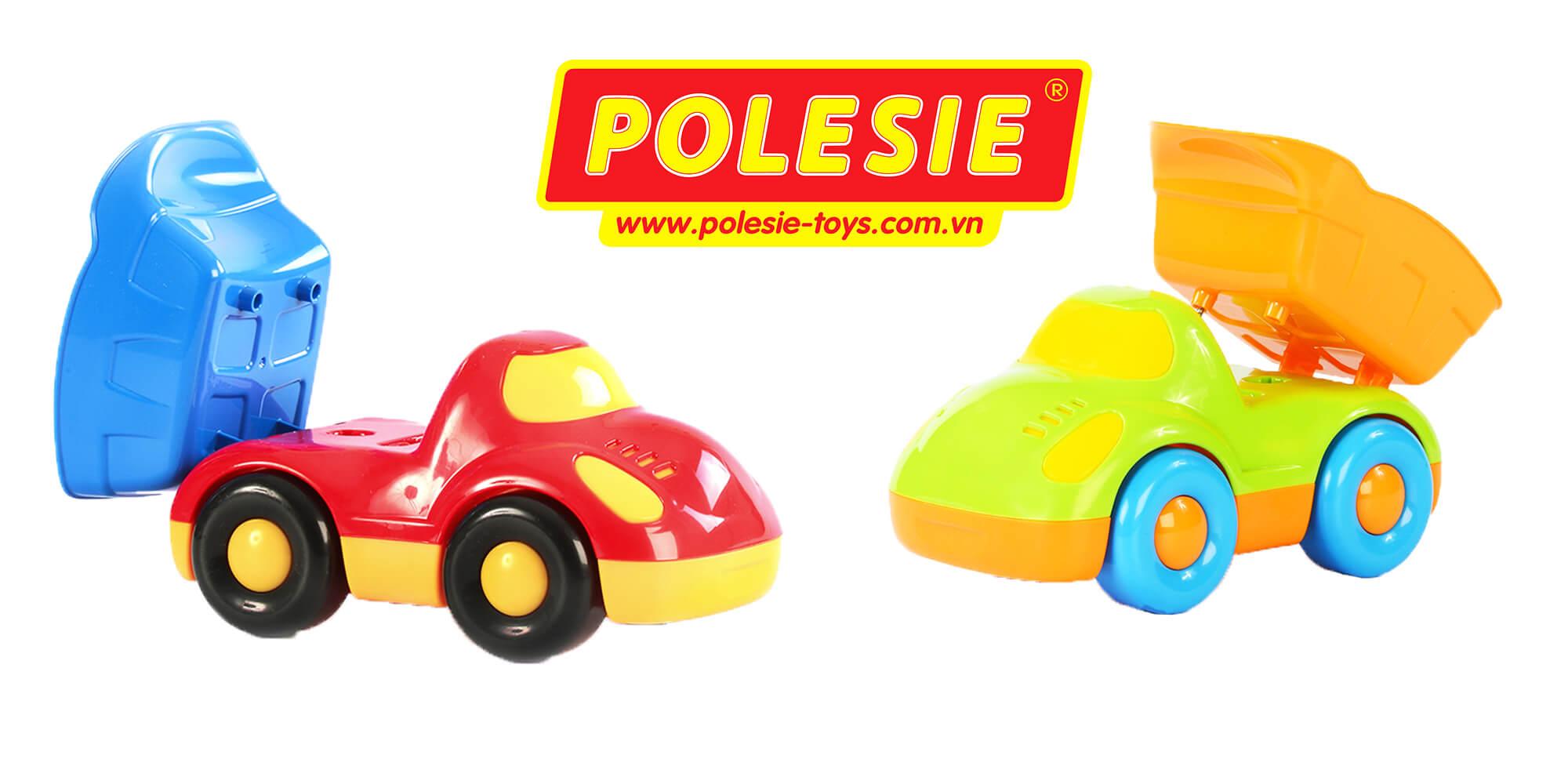 đồ chơi dành cho trẻ em xe tải Buddy Polesie Việt Nam