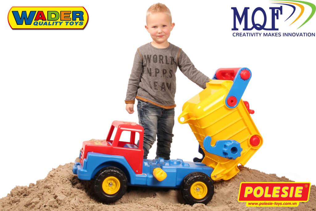 bé trai chơi xe tải No1 Polesie 37909