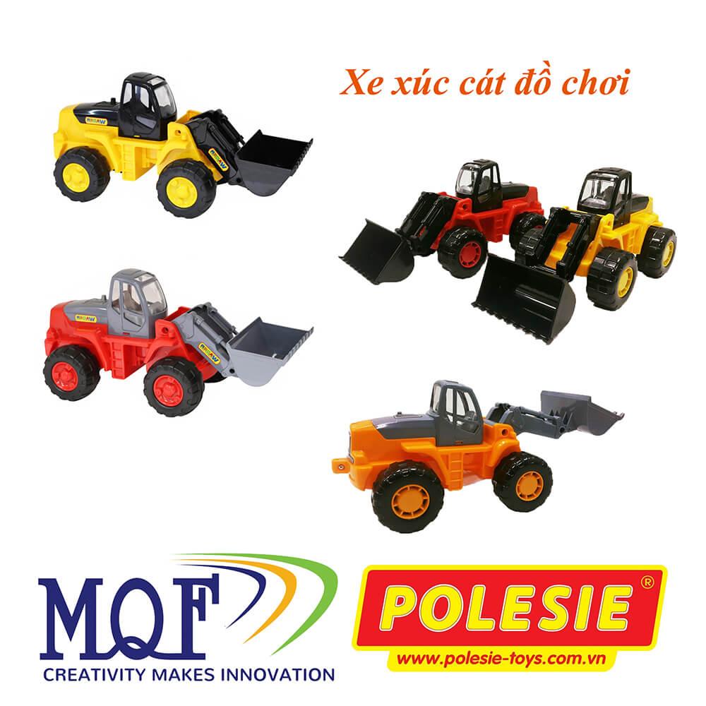 các mẫu màu xe xúc cát nhỏ polesie 35400