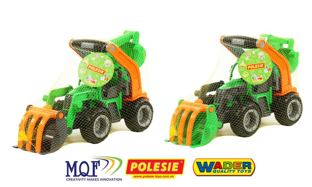 quy cách đóng gói xe xúc đồ chơi Griptrac 48394 Polesie Wader Toys