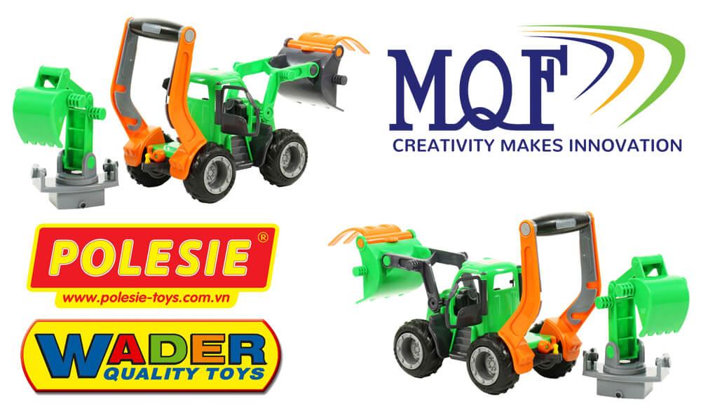 MQF CO phân phối xe xúc đồ chơi Griptrac 48394 Polesie Toys
