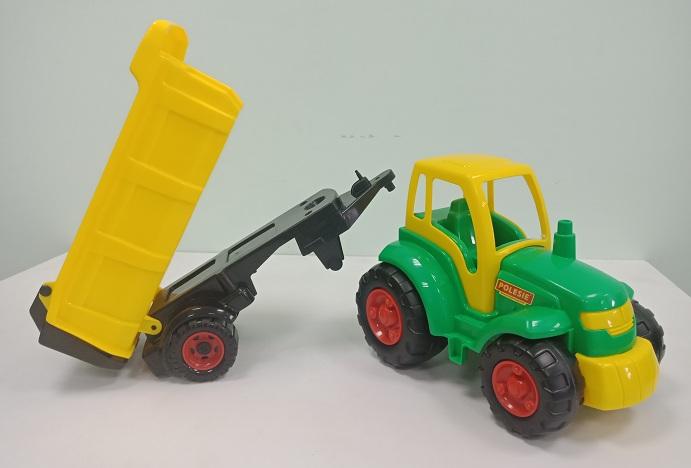 đồ chơi xe ô tô đầu kéo nông trại champion