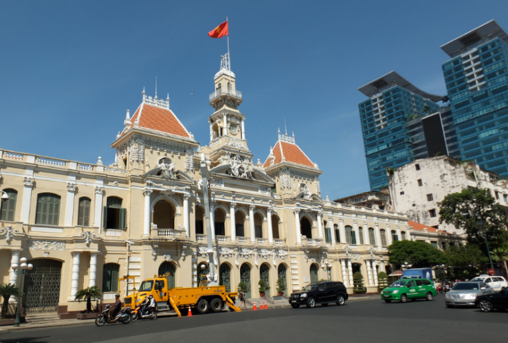 GROUP HO CHI MINH HALF DAY CITY TOUR