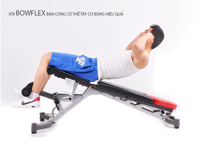 Ghế tập tạ tay Bowflex