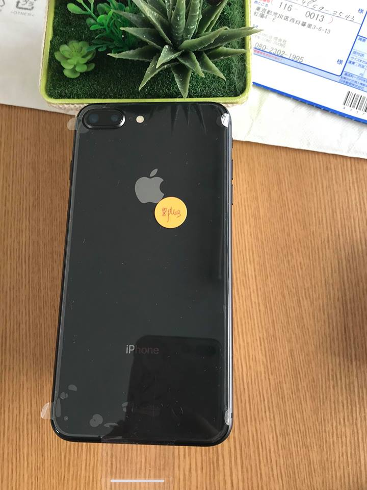 Iphone 8plus-64gb dcm 100% đen ID: 2224043
