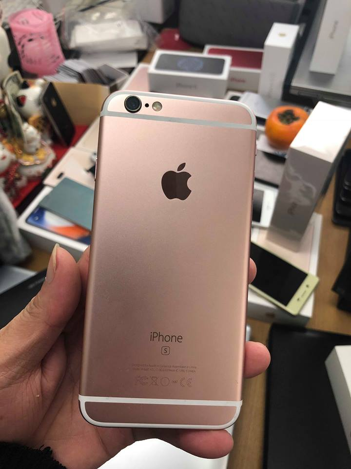 Iphone 6s-128gb qte 99% hồng ID: 3256563