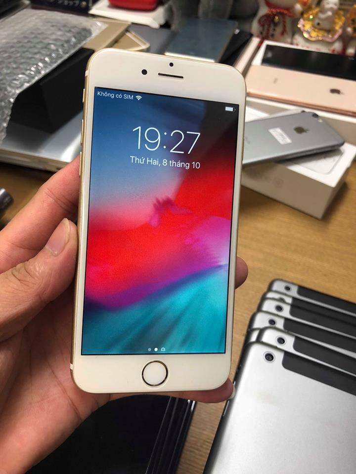 Iphone 6-16gb au 98% vàng ID: 452036