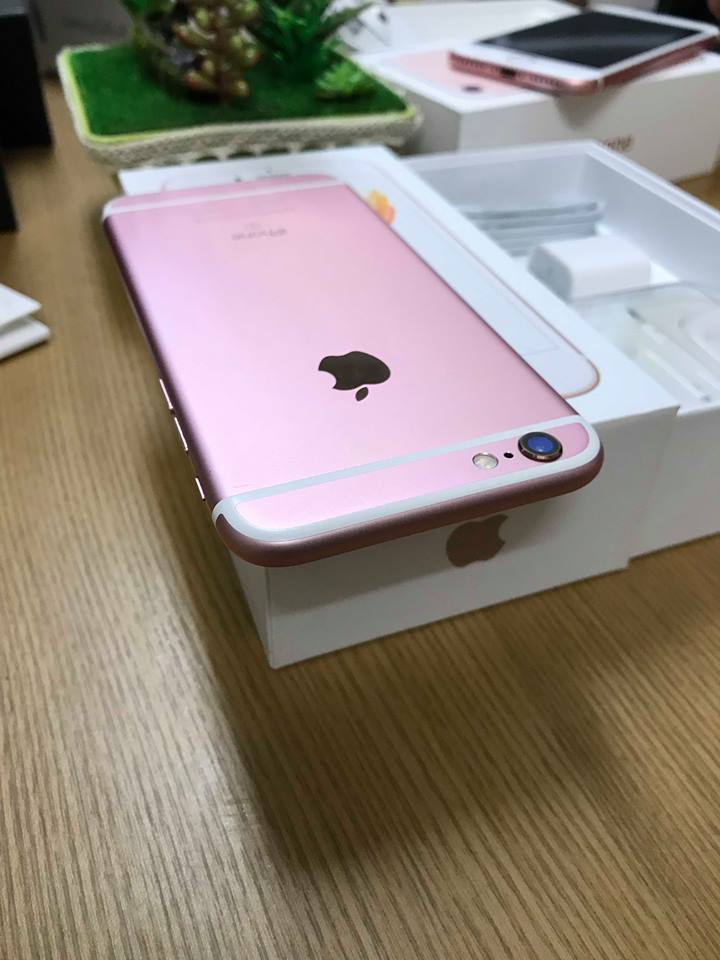 Iphone 6s-16gb dcm 99% hồng ID: 0261128